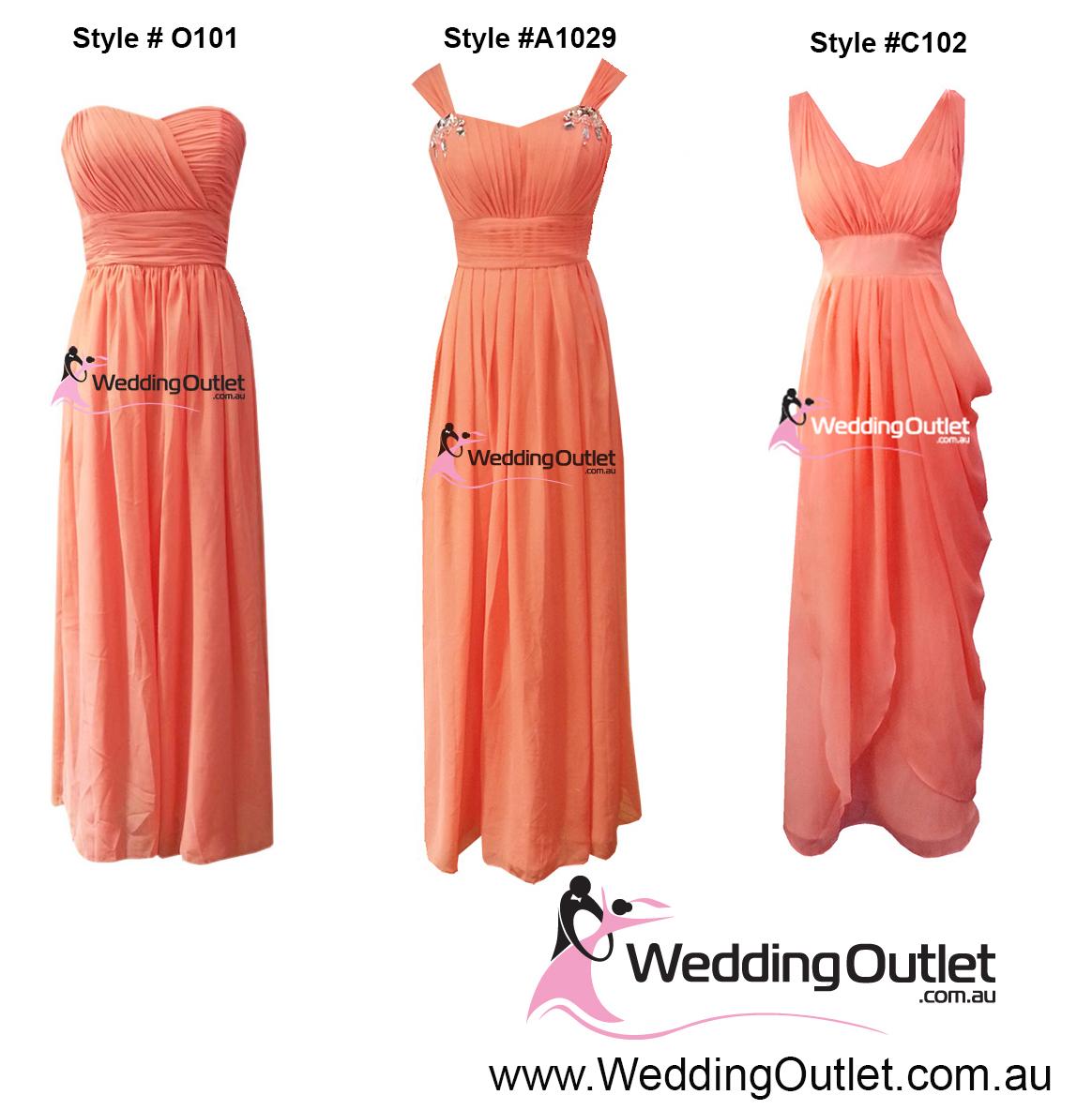 Coral bridesmaid dresses weddingoutlet coral bridesmaid dresses ombrellifo Gallery