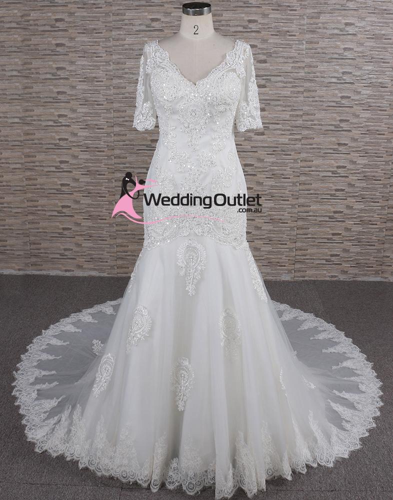 Cora long sleeve lace mermaid luxury affordable wedding dresses cora long sleeve lace mermaid luxury affordable wedding dresses junglespirit Images