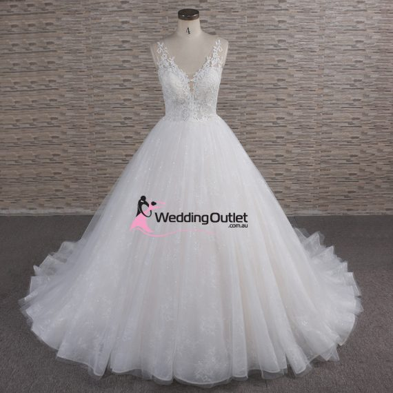 Genoa Princess Ball Gown Wedding Dress