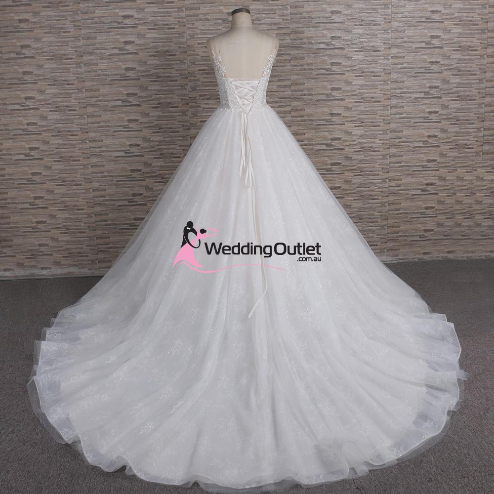 Genoa Princess Ball Gown Wedding Dress - WeddingOutlet.com.au