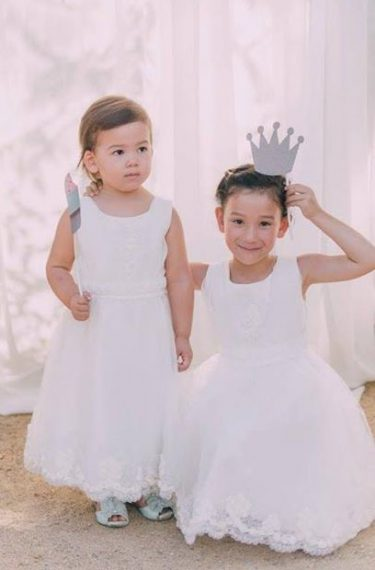 Flower Girl Dresses & Page Boy