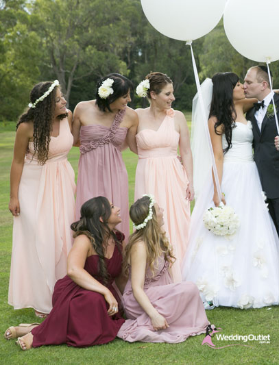 Pink & Reds - Bridesmaid Dresses