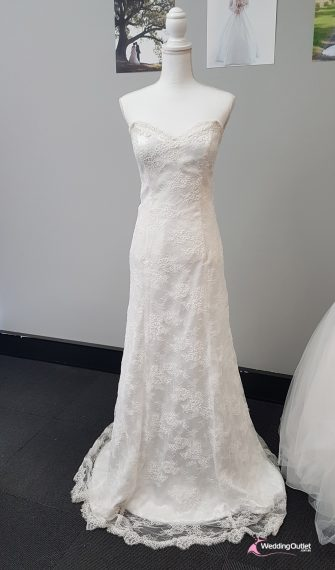 Trieste Fit and Flare Lace Bridal Wear