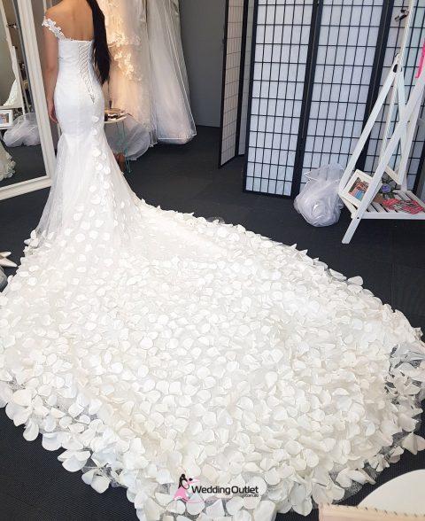 Eden Rose Petal Mermaid Wedding Dress