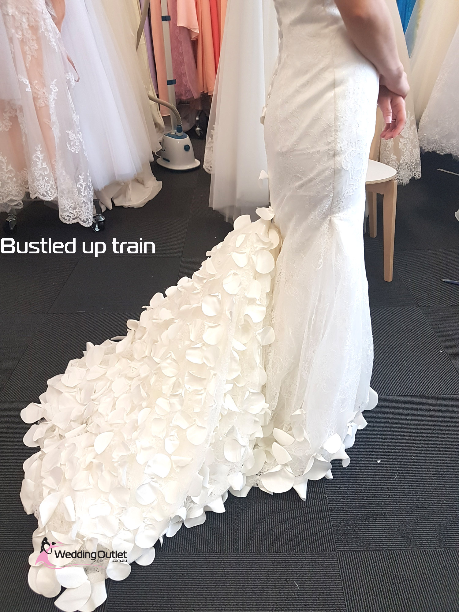 Eden Rose Petal Mermaid Wedding Dress Weddingoutlet Com Au
