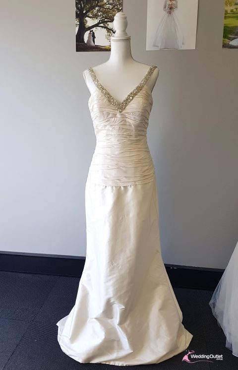 Sorento Champagne Mermaid Bridal Wear