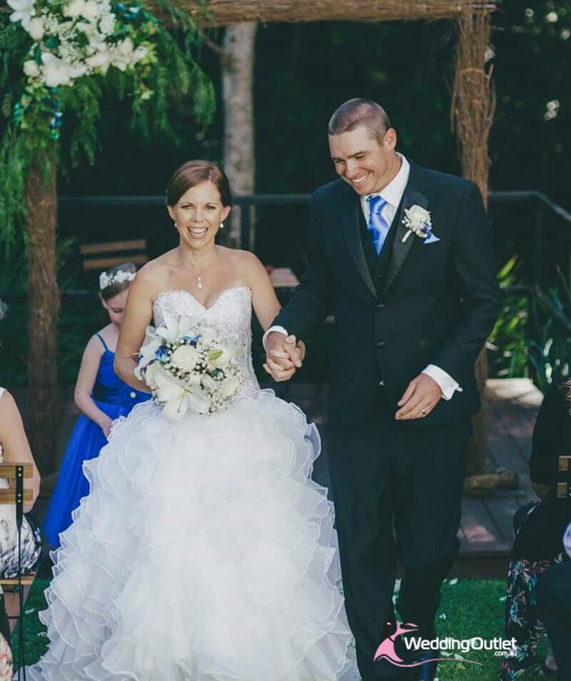 Wedding Gown Australia: Judith Ruffle Lace Wedding Gowns