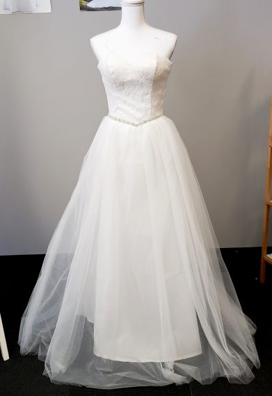 Nova Princess Strapless Wedding Dress