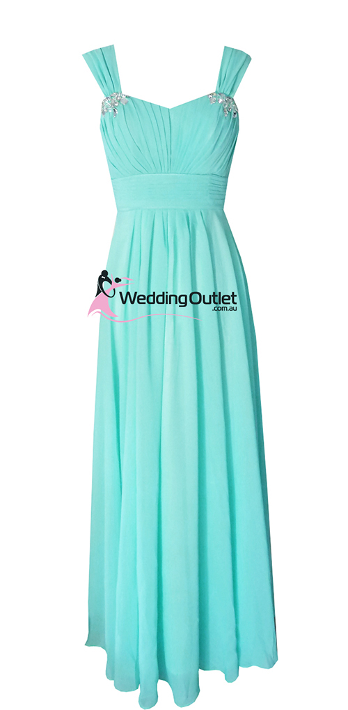 Aqua bridesmaid dresses style a1029 for Wedding dresses with tiffany blue