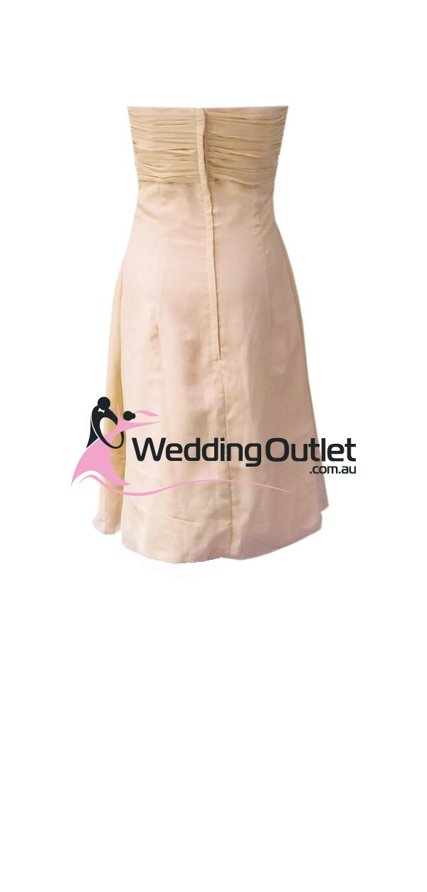 beige bridesmaid dresses style r101 short weddingoutlet