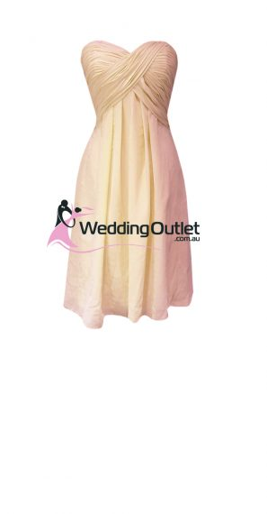 Beige Bridesmaid Dresses Style #R101 Short