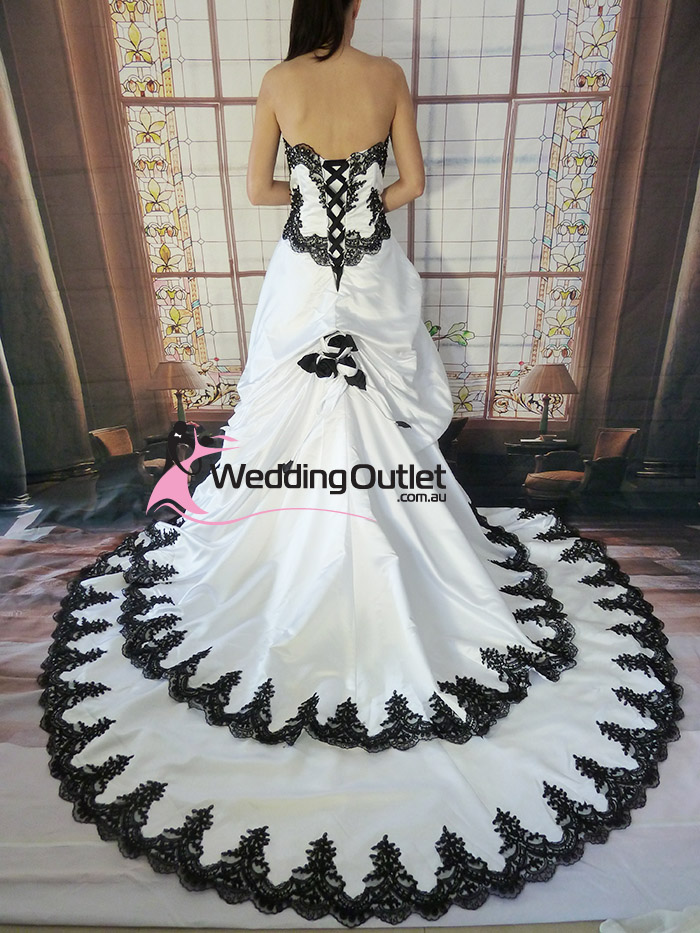 Black And White Wedding Dresses Red Black And White Wedding Dresses