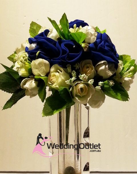 Dark Blue Bridal Bouquets Style B