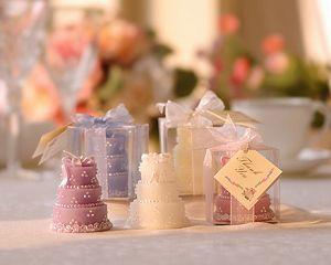 Cake Candle Wedding Favour