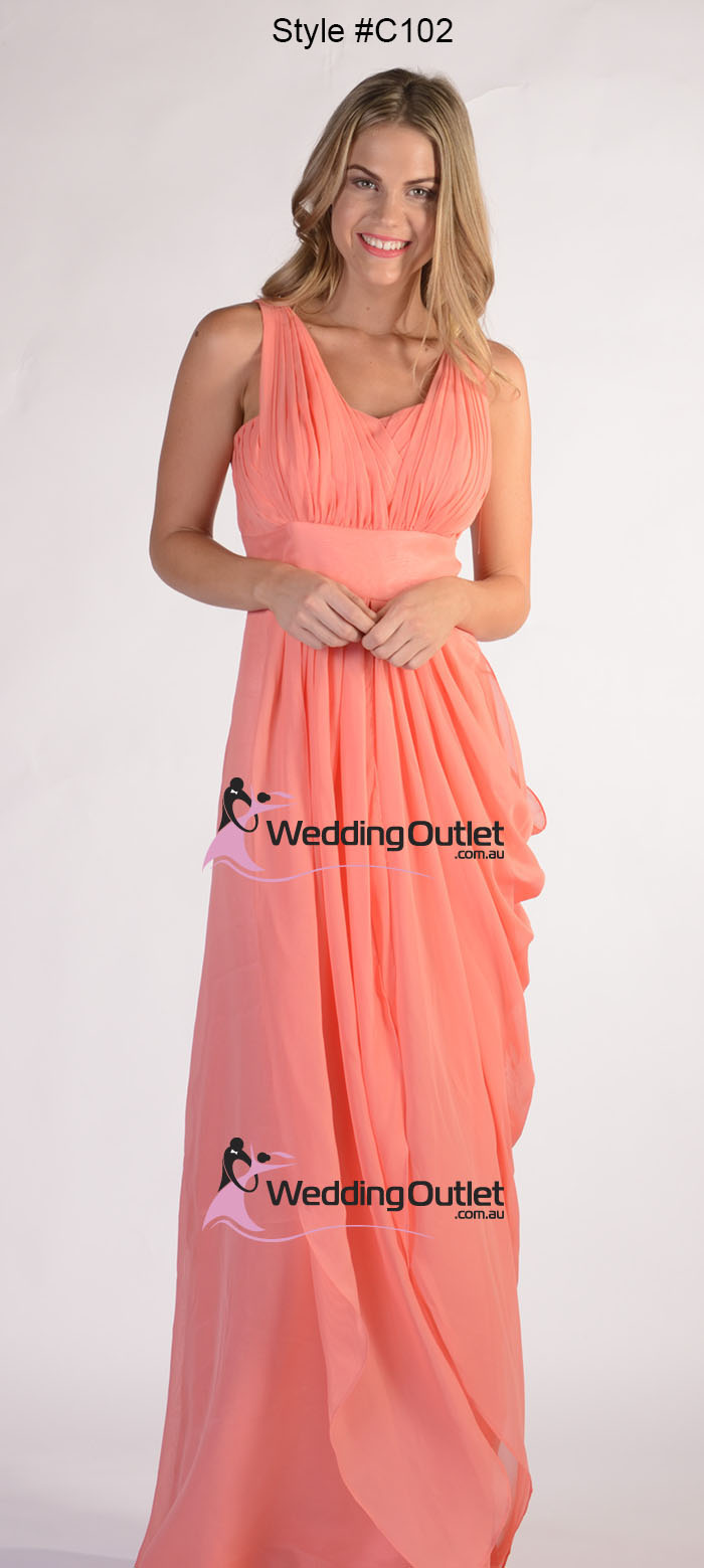 Acai Purple Sleeved Bridesmaid Dreses Style #C102