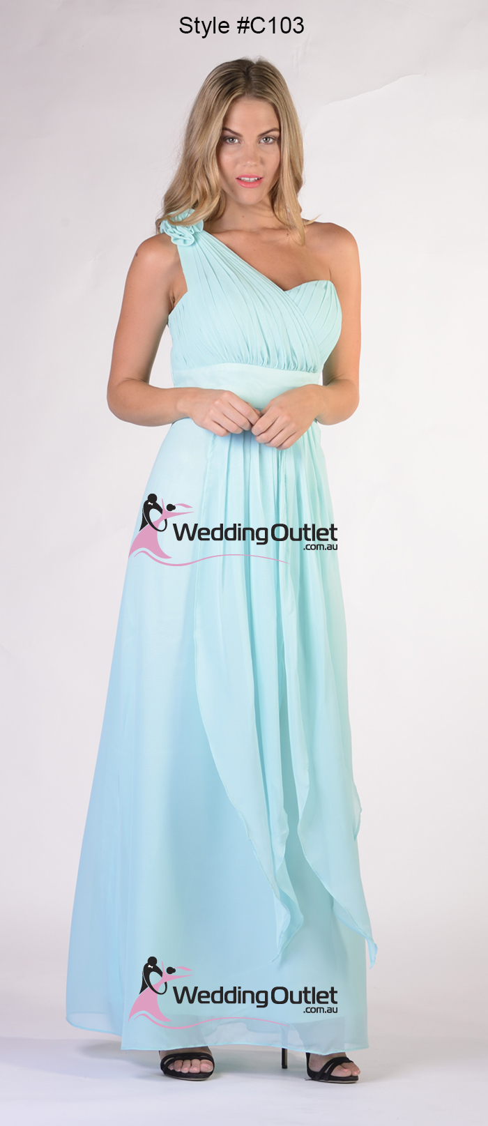 Dusty pink bridesmaid dresses style c103 weddingoutlet ombrellifo Gallery