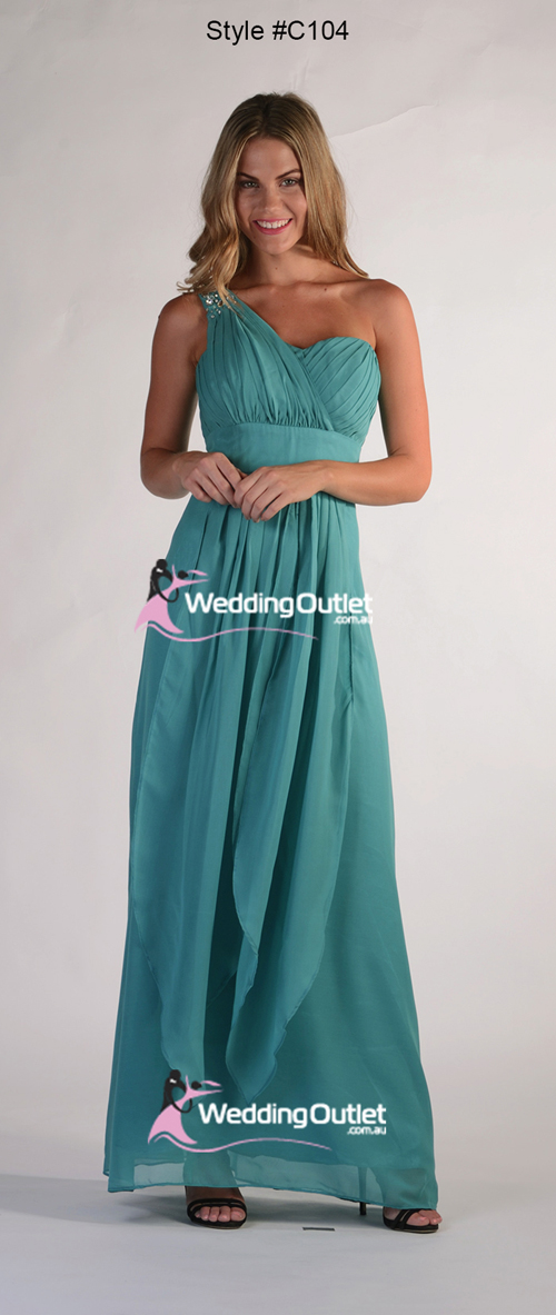 Red Violet Bridesmaid Dresses Maxi Style #C104