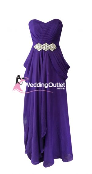 Amethyst Purple Bridesmaid Dresses Style #I101