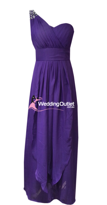 Amethyst Purple Bridesmaid Dresses Style #C104 - WeddingOutlet.com.au