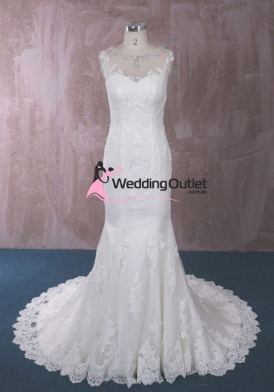Eliana Lace Mermaid Wedding Dresses