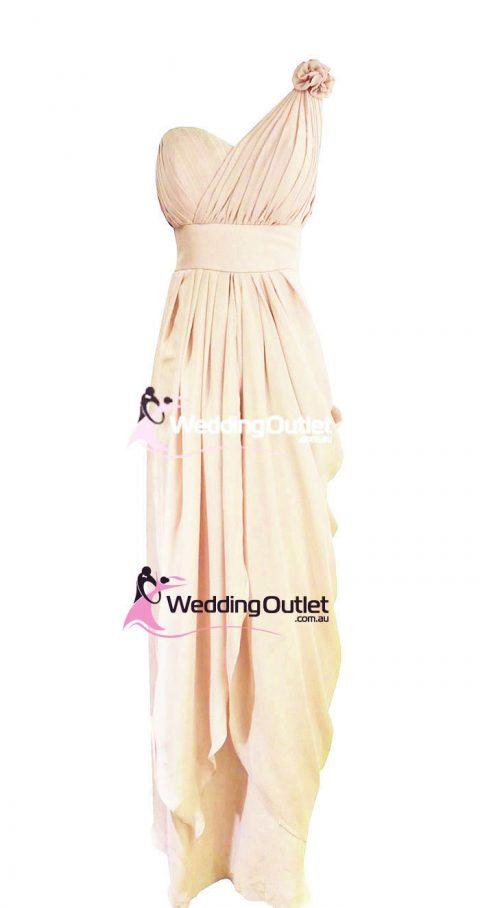 Cream Bridesmaid Dresses Style #C101
