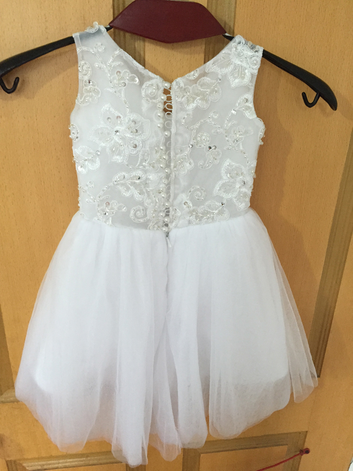 Matching Flower Girl Dress To Wedding Gown