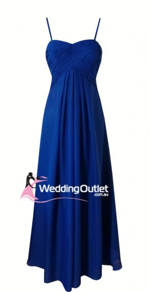 Dark Blue Bridesmaid Dress Style #K101
