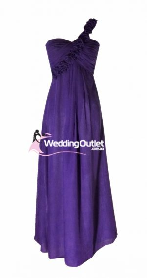 Amethyst Purple Bridesmaid Dress Style #E101