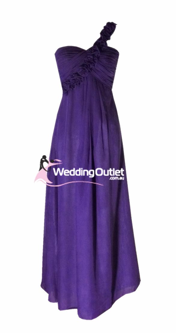 Amethyst Purple Bridesmaid Dress Style #E101 - WeddingOutlet.com.au
