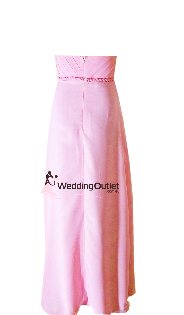 Baby pink bridesmaid dresses style d101 weddingoutlet for Baby pink wedding dress