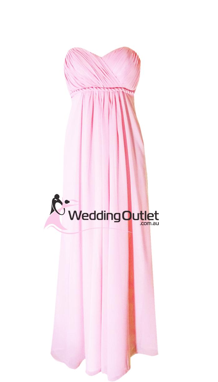 Baby Pink Bridesmaid Dresses Style #D101 - WeddingOutlet.com.au