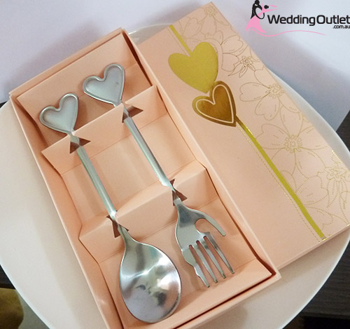 Fork and Spoon Wedding favors