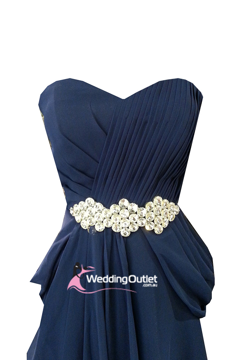 Midnight blue evening gown and bridesmaid dress style i101 midnight blue evening gown and bridesmaid dress style i101 weddingoutlet ombrellifo Images