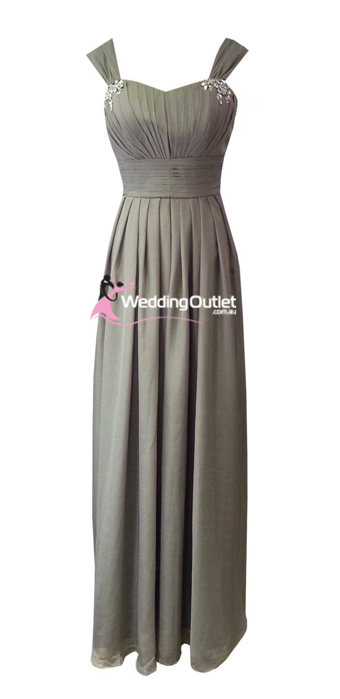 Apple green bridesmaid dress