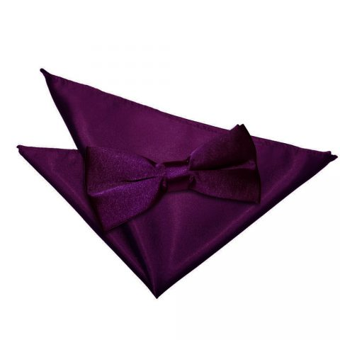 Mens Colour Matched Bow Ties, Ties and Pocket Handkerchief