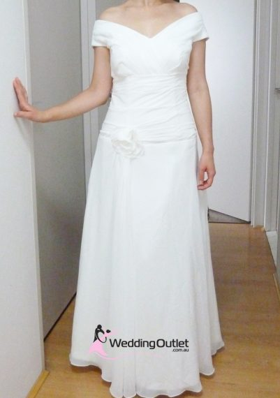 Irene Simple Wedding Gown