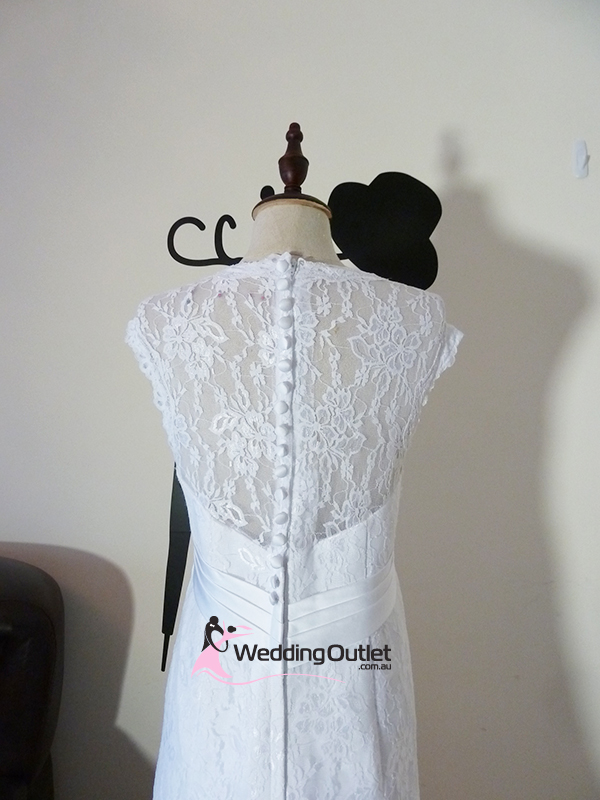 Camille Vintage Lace Wedding Dress