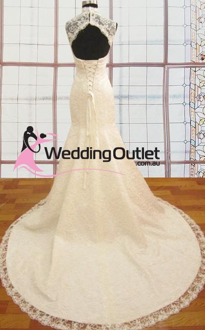 Layla Vintage Lace Wedding dress - WeddingOutlet.com.au
