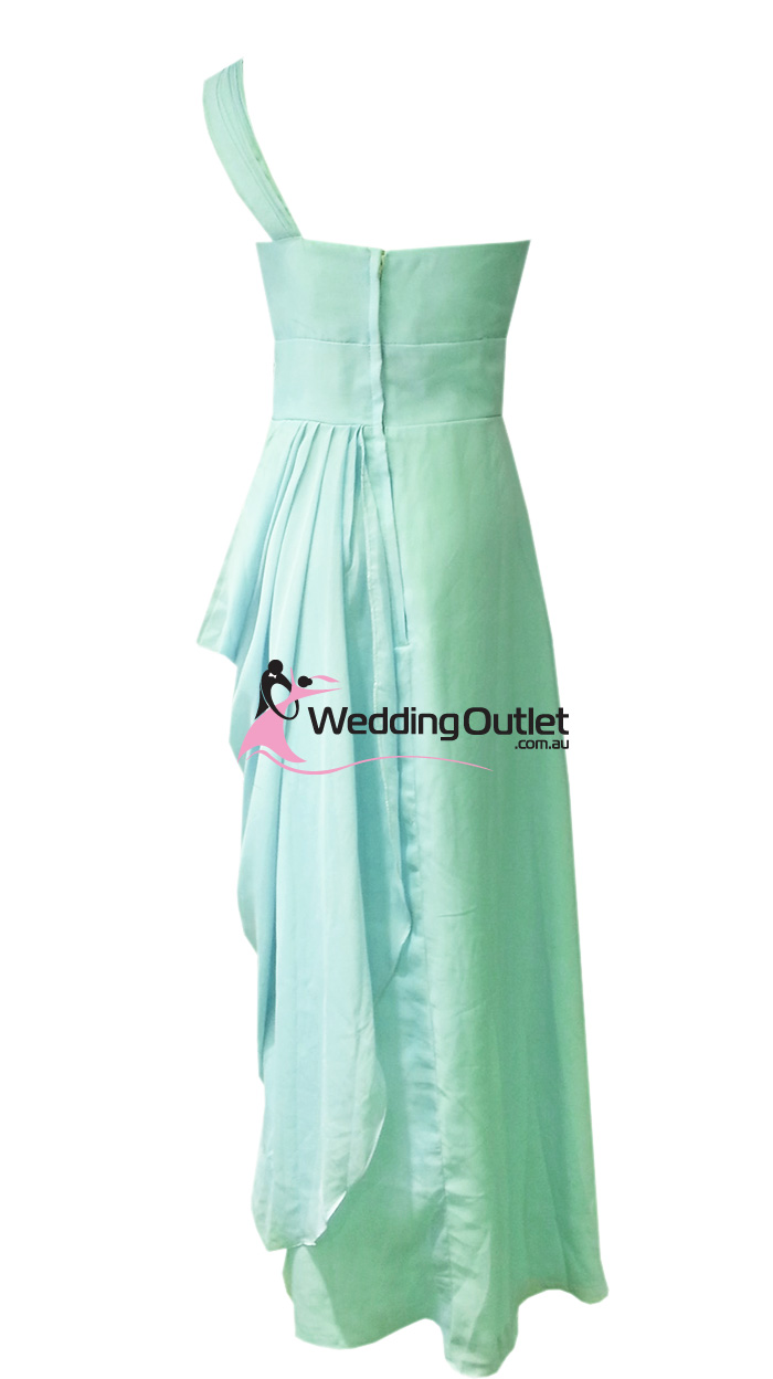 Mint green bridesmaid dresses style c101 weddingoutlet for Mint green wedding dress