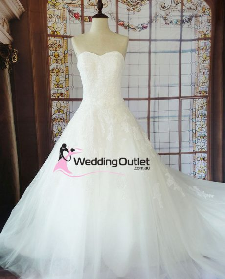 Myra lace wedding dress