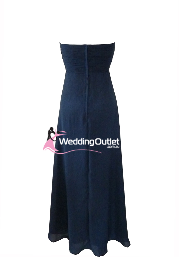 Midnight blue bridesmaid dress style j101 weddingoutlet for Midnight blue wedding dress