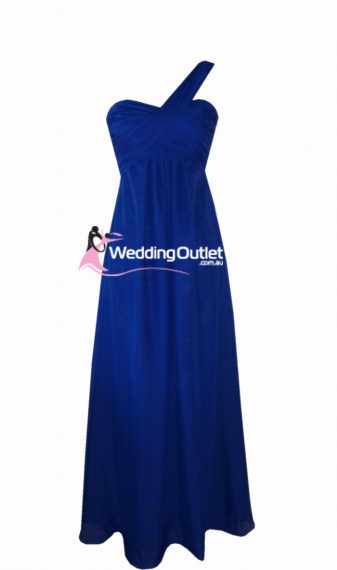 Dark Blue Bridesmaid Dress Style #F101