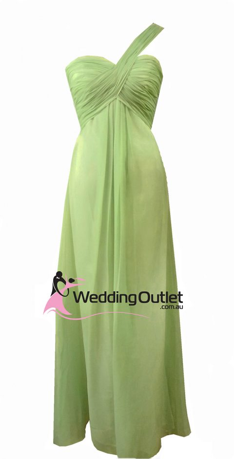 Olive Green Bridesmaid Dresses Style #F101