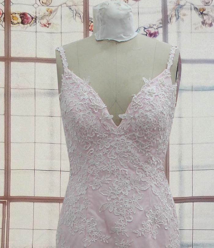 Pink Wedding Mermaid Dresses Gown