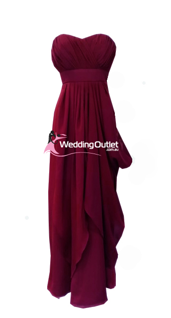 Red Violet Bridesmaid Dresses Style #W101