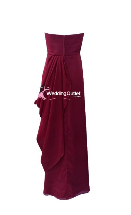 Red Violet Bridesmaid Dresses Style #W101 - WeddingOutlet ...