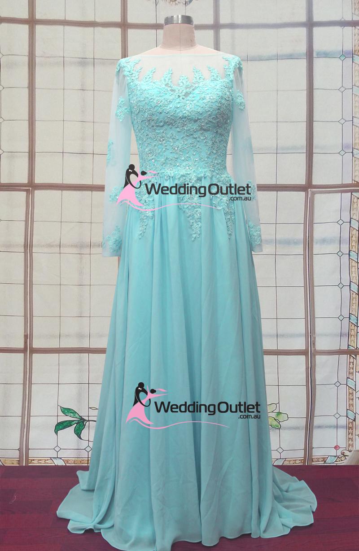Elsa frozen tiffany blue wedding dresses
