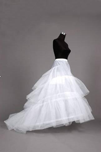 Train Petticoat For Wedding Dresses