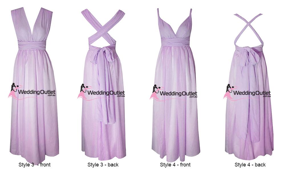 Wrap Bridesmaid Dresses 11