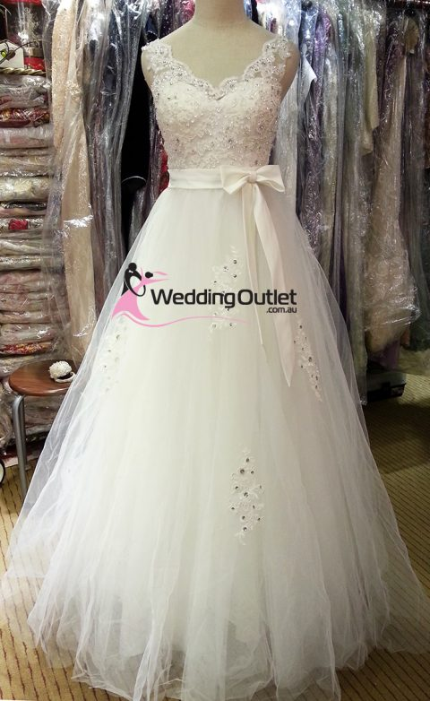 Misty Princess Lace Wedding Gown